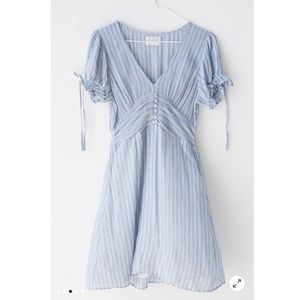 Urban Outfitters Tie Sleeve Mini Dress